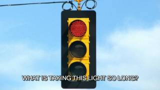 Hitler Stuck At Traffic Light