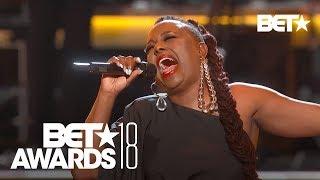 "Ledisi sings Anita Baker's ""Sweet Love"" Tribute  | BET Awards 2018"