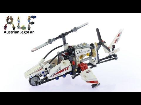 Vidéo LEGO Technic 42057 : L'hélicoptère ultra-léger