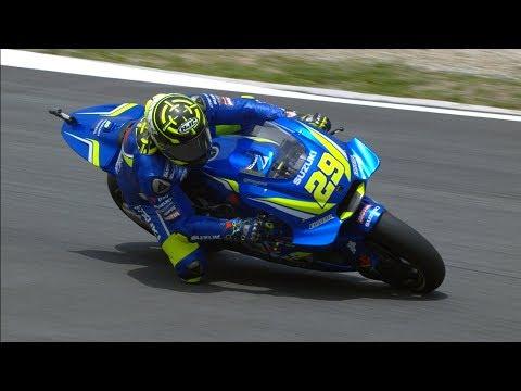 2018 Catalan GP - Suzuki in action