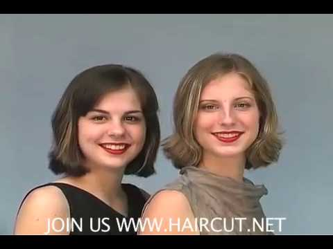 7:36 HAIRCUT.NET WHICH ONE SHAVED? ASHLEY OR BRIANNA ONE SHORN ONE