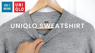 UNIQLO Mens Long-Sleeve Sweatshirt Review