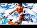 Top 10 Most Gnarly Snowboarding Games