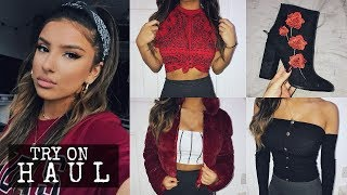 HUGE TRY ON CLOTHING HAUL! WINTER 2017