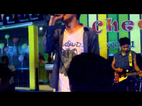 JavaGreen - Pagi di pantai (live in Cafe cheers on brithday patry's laras)
