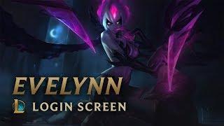Evelynn, Agony's Embrace | Login Screen - League of Legends