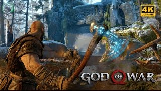 GOD OF WAR 4K HDR + GAMEPLAY VIDEO