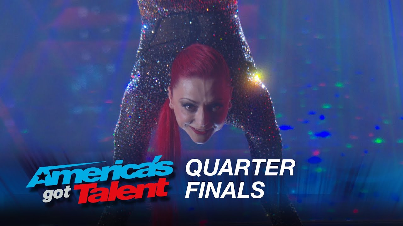 Vita Radionova: Contortionist Bends and Twists Across the Stage – America's Got Talent 2015 #AGT