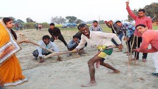 चिरकुटवा खेले क्रिकेट पतोहिया मारे छक्का 20,20 मैंच ,Bhojpuri Funny Comedy Chirkut Baba