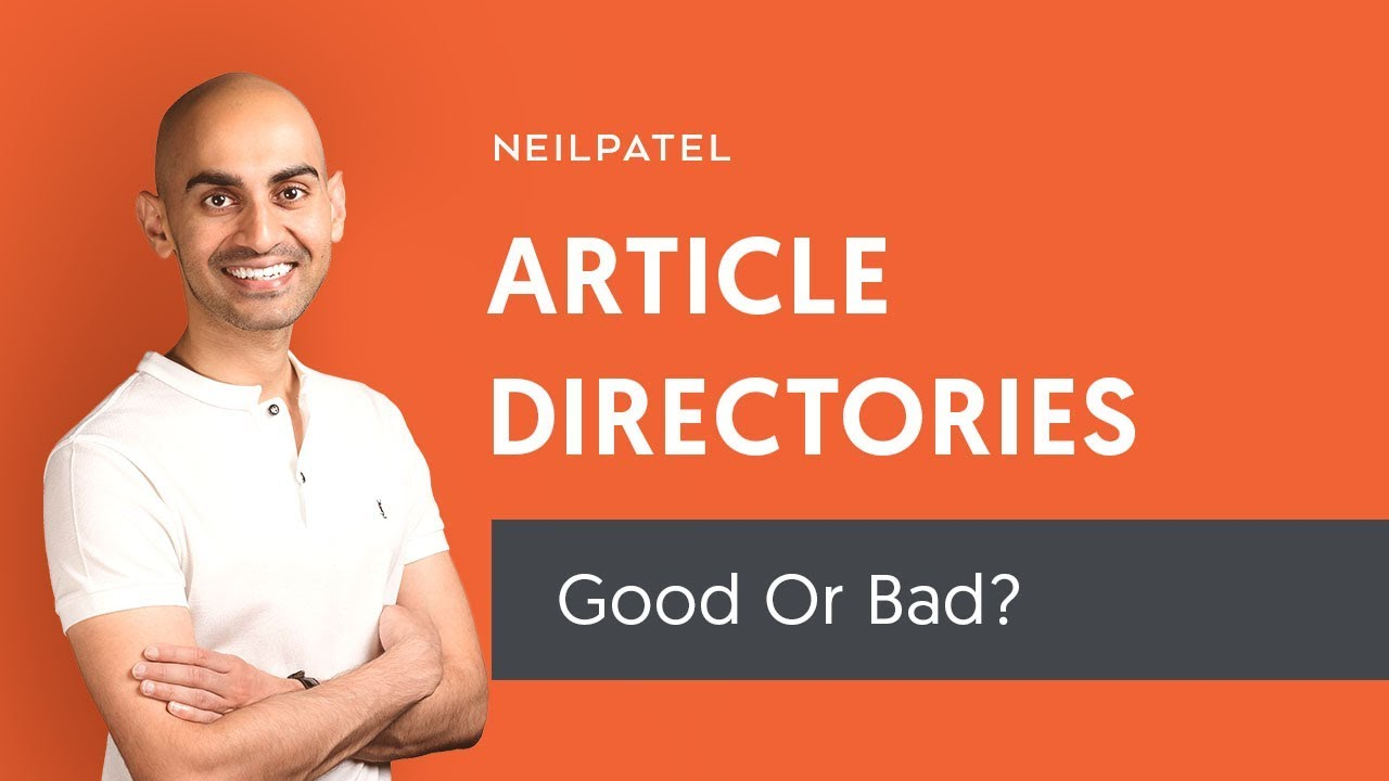 Should You Build Links From Article Directories?