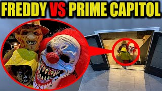 FREDDY KRUEGER CROUCHY THE CLOWN & GEORGIE VS PRIME CAPITOL (THEY WANTED STROMEDYS GIRLFRIEND)