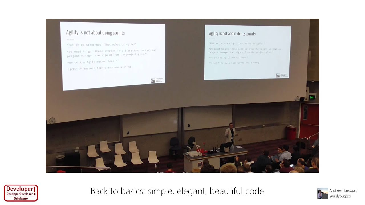 Back to basics: simple, elegant, beautiful code