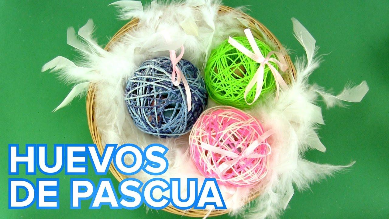 Huevos de Pascua con sorpresa | Manualidades para niños