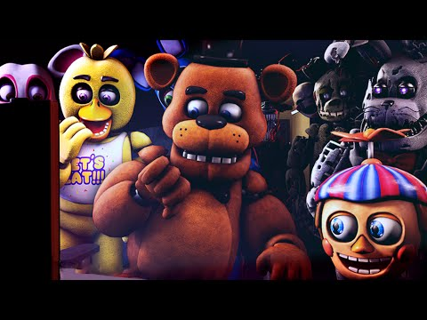 fnaf sfm animatronics react to sister location video trailer