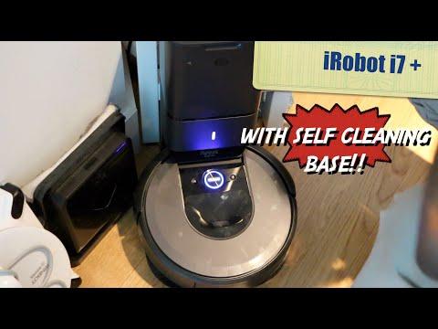 iRobot i7 + ( with self cleaning base)- HERVEs WORLD - Episode 286