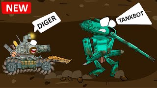 Tank Digger found Tankbot - Cartoons about tanks.