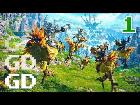 Final Fantasy XIV Gameplay Part 1 – Welcome to Gridania – FF14 Let's Play Series