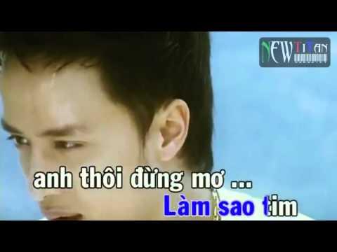 [Karaoke] Con Đường Mưa - Cao Thái Sơn __ NewTitan __ Karaoke Online