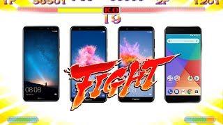 Xiaomi Mi A1 vs Huawei Mate 10 Lite vs Huawei P Smart vs Honor 7X, FIGHT!