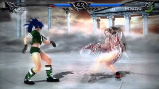 Scv - creation: Leona vs Mai Shiranui