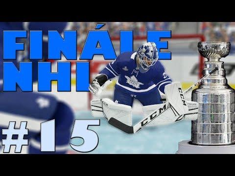 NHL 19 | KOBLIH GOLMANEM #15 | FINÁLE NHL! | CZ/SK