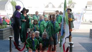 65 jaar Scouting Hellevoetsluis met kampthema Harry Potter