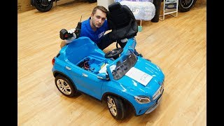 Детский электромобиль своими руками | Видео урок: сборка Mercedes-Benz