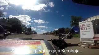 preview picture of video 'Melintas sempadan Chong Sa Ngam/Choam'