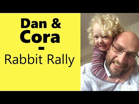 Rabbit Rally Board Game - with Dan and Cora