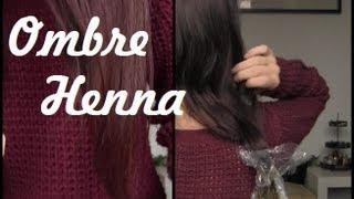 Dip Dying Hair With Henna - An Experiment