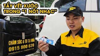 Mẹo xe hơi 2018 - Cách tẩy vết xước trên ô tô bằng kem đánh răng