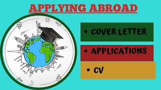 Applying Abroad: Cover Letters, CV & Applications | Prachi Tadsare | An Hour With LawSikho