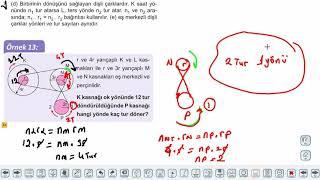 Eğitim Vadisi 11.Sınıf Fizik 15.Föy Basit Makineler 4 (Kasnaklar ve Dişli Çarklar) Konu Anlatım Videoları