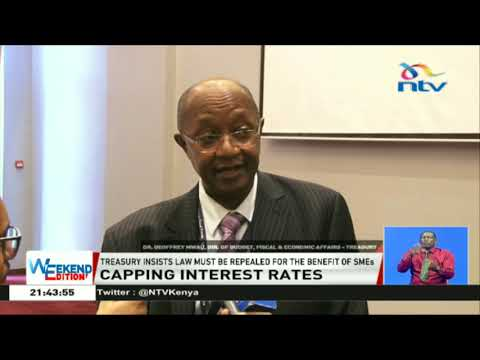 Treasury insists bank rate cap must be repealed for the benefit of SMEs