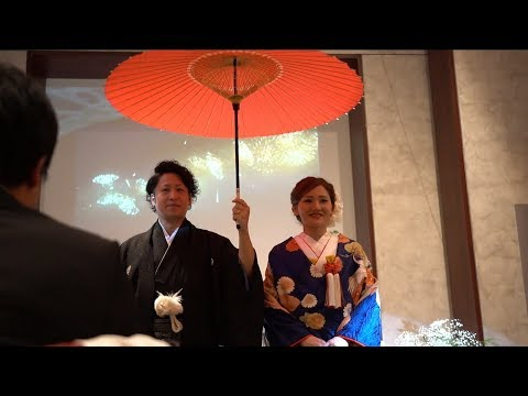 乾杯は思い出の地のビールで♡海外で挙式を挙げたおふたりのパーティーをご紹介☆ちらし寿司入刀にも注目です!