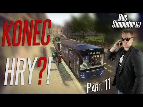 KONEC HRY?! | Bus Simulator 16 #11