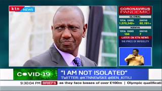 William Ruto: The President and I are still \
