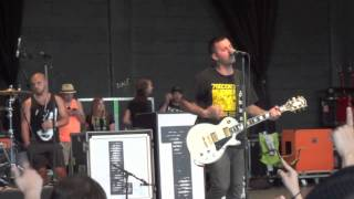 Bayside - Blame It On Bad Luck Live Mansfield, MA 7/19/12 Warped Tour