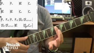 Simge - Yankı - Gitar Dersi ( Orjinal Akor )