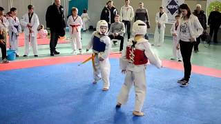 taekwondo best kicks FullHD, Таеквондо удары накауты