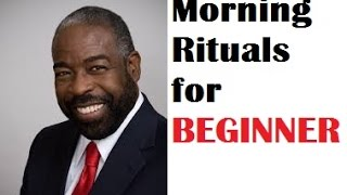 The 5-step Surefire Blueprint for new guys to have a Wonderful Morning and an Energetic Day