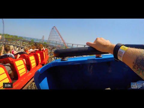 Download Gemini - Cedar Point - 4K POV 2016 - Sandusky, Ohio Mp4 HD Video and MP3