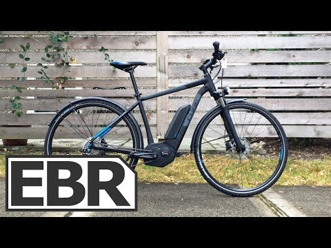 CUBE Cross Hybrid Pro 400 Video Review – $2.6k Bosch CX Electric Bike, Trail Capable