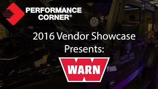 2016 Performance Corner™ Vendor Showcase presents: WARN