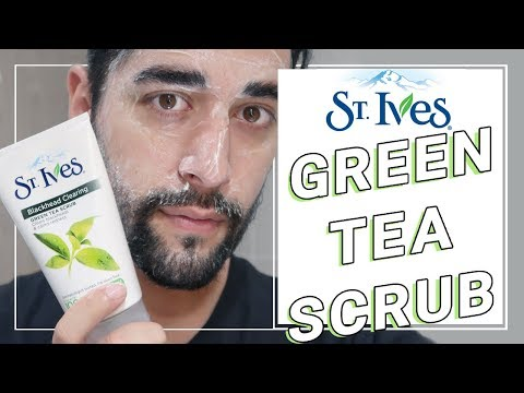 FIRST IMPRESSIONS – St Ives Blackhead Clearing Green Tea Scrub Review  ✖ James Welsh