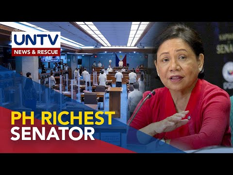 [UNTV]  Sen. Cynthia Villar, nanatiling pinakamayaman na senador batay sa 2019 SALN