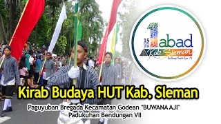 Kirab Budaya Memperingati 1 Abad HUT Kabupaten Sleman, Yogyakarta
