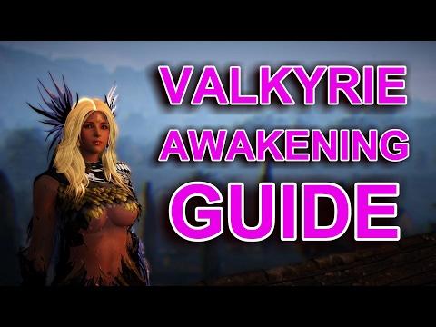 Valkyrie Awakening Guide : Black Desert Online, Combos, PvP