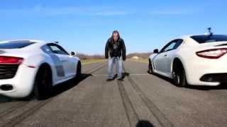Novitec Maserati Granturismo Vs Audi R8 Race