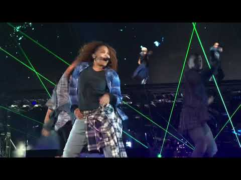 Janet Jackson Come On Get Up / Rock With U / Throb San Francisco Rhythm Nation 30th Anniversary